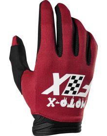 Fox Racing 2019 Dirtpaw Czar Glove Cardinal