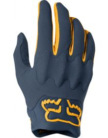 Fox Racing 2019 Bomber Light Glove Navy/Yellow