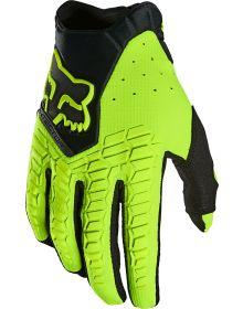 Fox Racing 2021 Pawtector Glove Flo-Yellow
