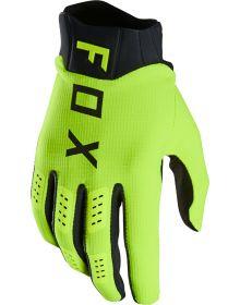 Fox Racing 2021 Flexair Glove Flo Yellow