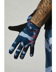 Fox Racing MTB Ranger Glove Blue Camo