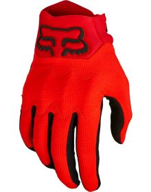 Fox Racing Bomber LT Glove Flo Red
