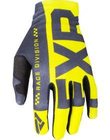 FXR Slip On Lite MX Glove Hi-Vis/Black
