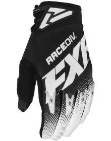 FXR 2020 Factory Ride Adjustable MX Glove Black/White