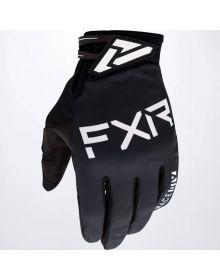 FXR 2020 Cold Cross Lite MX Glove Black/White