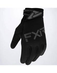 FXR 2020 Cold Cross Neoprene MX Glove Black