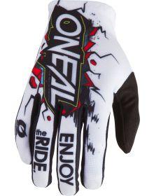 O'Neal 2020 Matrix Glove Villain White
