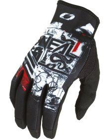 O'Neal 2022 Mayhem Scarz Gloves Black/White
