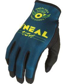 O'Neal 2022 Mayhem Bullet Gloves Blue/Yellow