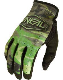 O'Neal 2022 Mayhem Camo Gloves Black/Green