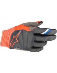 Alpinestars MX Aviator Gloves Anthracite/Orange