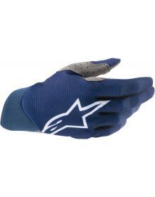 Alpinestars MX Dune Gloves Blue/White