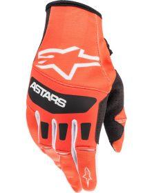 Alpinestars 2022 MX Techstar Gloves Orange/Black