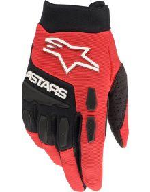 Alpinestars 2022 MX Full Bore Gloves Bright Red/Black
