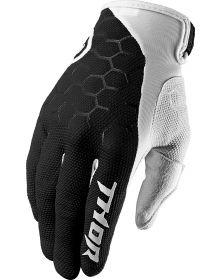 Thor 2019 Draft Indi Gloves Black/White
