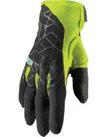 Thor 2021 Draft Gloves Black/Acid
