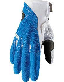 Thor 2021 Draft Gloves Blue/White