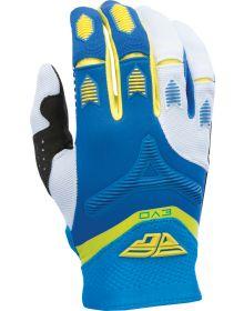 Fly Racing 2017 Evo Glove Blue/Yellow/White