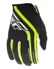 Fly Racing 2020 Windproof Lite Gloves Black/Hi-Vis