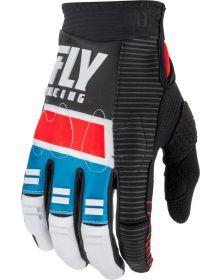 Fly Racing 2019 Evolution Gloves Red/Blue/Black
