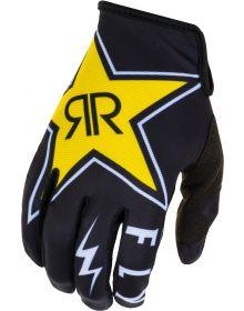 Fly Racing 2020 Lite Rockstar Glove Black/White/Yellow