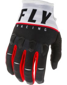 Fly Racing 2020 Kinetic K120 Glove Black/White/Red