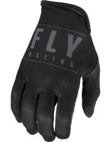 Fly Racing 2021 Media Gloves Black/Black