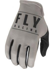 Fly Racing 2021 Media Gloves Grey/Black