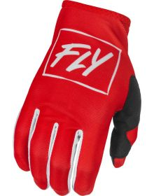 Fly Racing 2022 Lite Gloves Red/White