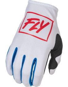 Fly Racing 2022 Lite Gloves Red/White/Blue