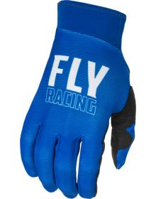 Fly Racing 2022 Pro Lite Gloves Blue/White