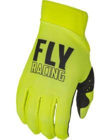 Fly Racing 2022 Pro Lite Gloves Hi-Vis/Black