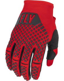 Fly Racing 2022 Kinetic Gloves Red/Black