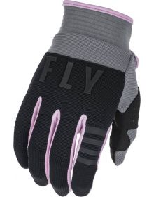 Fly Racing 2022 F-16 Womens Gloves Grey/Black/Pink