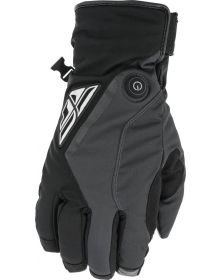 Fly Racing 2022 Title Heated Cold Weather Gloves Black/Grey