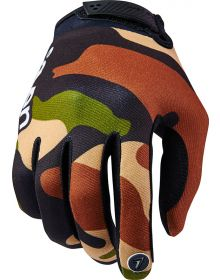 Seven 16.2 Annex Youth Gloves Soldier Black