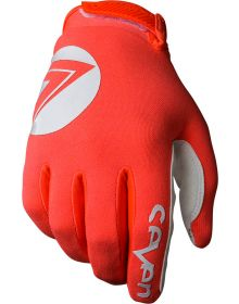 Seven 18.1 Annex 7 Dot Youth Gloves Coral