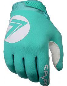 Seven Annex Dot Youth Gloves Aqua Lite