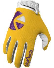 Seven Annex Ethika Youth Gloves Gold