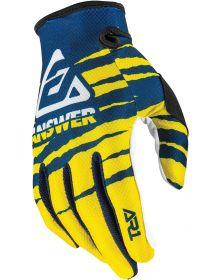 Answer 2020 AR1 Pro Glow Youth Glove Yellow/Midnight/White