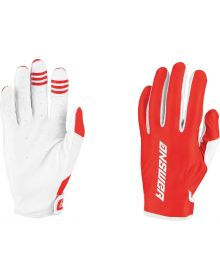 Answer Racing Youth Ascent Glove Red/White