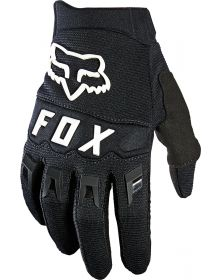 Fox Racing 2021 Dirtpaw Youth Glove Black/White