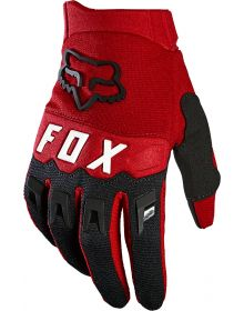 Fox Racing 2021 Dirtpaw Youth Glove Flame Red