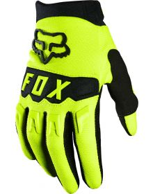 Fox Racing 2021 Dirtpaw Youth Glove Flo Yellow