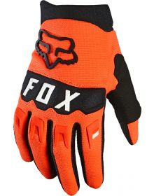 Fox Racing 2021 Dirtpaw Youth Glove Flo Orange