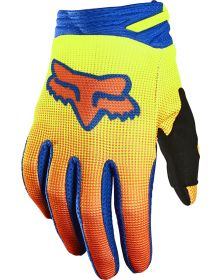 Fox Racing 2021 180 Oktiv Youth Glove Flo Yellow