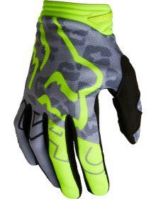 Fox Racing 180 Skew Youth Girls Glove Flo Yellow