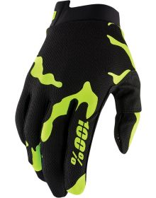 100% I-Track Youth Gloves Salamander