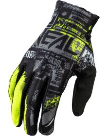 O'Neal 2021 Matrix Ride Youth Glove Black/Neon