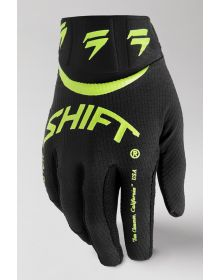 Shift MX White Label Bliss Youth Gloves Flo Yellow